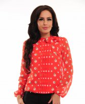 Haine. Bluza LaDonna Fresh Illusion Red