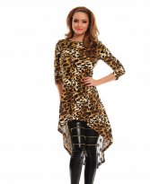 Haine. Bluza Fofy Delicate Lace Brown