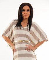 Haine. Rochie MissQ Caressing Shine Brown