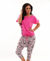 MissQ Sleepy Penguin Pink Pajamas