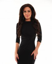 Haine. Rochie MissQ Simple Look Black
