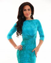 Haine. Rochie MissQ Simple Look Blue