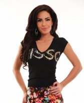 MissQ Ice Flavour Black T-Shirt