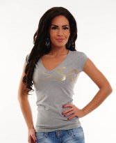 MissQ Ice Flavour Grey T-Shirt