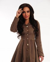 Haine. Trench PrettyGirl Unleashed Brown