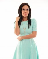 LaDonna Sweet Fixture Turquoise Dress