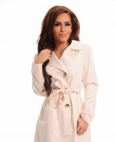 Haine. Trench LaDonna Stately Fashion Nude