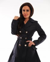 Haine. Trench LaDonna Stately Fashion DarkBlue