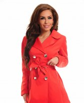 Haine. Trench LaDonna Stately Fashion Red