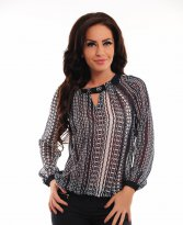 Fofy Salient Wish DarkBlue Blouse