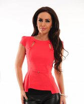 Fofy Lovely Caress Coral Shirt