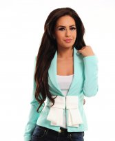 PrettyGirl Immensity Turquoise Jacket