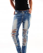 Haine. Jeans Mexton Breaking Action Blue
