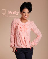 Fofy Essential Glow Peach Blouse