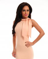 PrettyGirl Unbridled Peach Dress