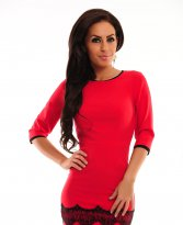Haine. Rochie Innocent Expression Red