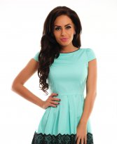 Magnific Emotion Turquoise Dress
