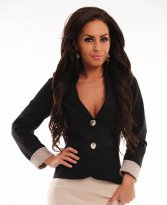 LaDonna Complete Note Black Jacket