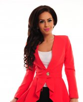PrettyGirl Fiction Coral Jacket