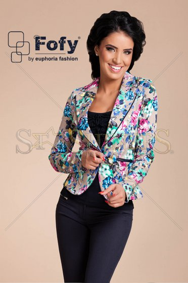 Sacou Fofy Flower Party Blue