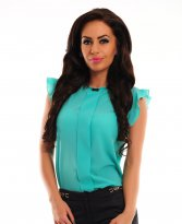 LaDonna Priceless Charm Green Blouse