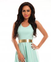 PrettyGirl Serene Turquoise Dress