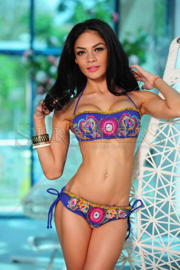 Costum De Baie Cosita Linda Hawaii Blue