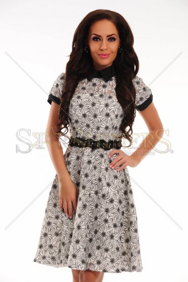 Rochie Natural Crystals White