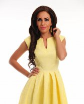 Haine. Rochie Polished Harmony Yellow