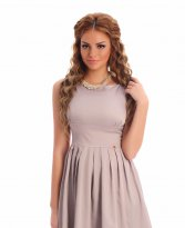 PrettyGirl Smooth Grey Dress