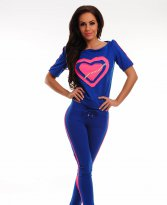 Ocassion Romantic Heart Blue Set