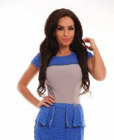 MissQ Alluring Capture Blue Dress
