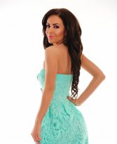 Haine. Rochie LaDonna Private Sweets Turquoise