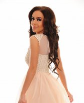 Haine. Rochie Fofy Obvious Luxury Peach