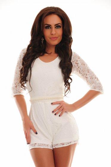 Salopeta PrettyGirl Dashing White