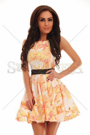 Rochie Fanciful Moment Yellow