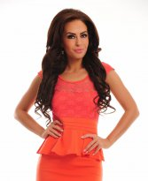 Haine. Rochie Unleashed Season Orange
