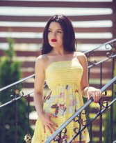 Instant Revelation Yellow Dress