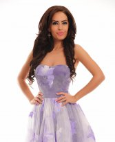 Haine. Rochie Moving Light Purple