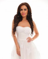 Haine. Rochie Moving Light White