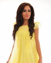 Alluring Haze Yellow Dress
