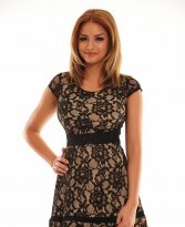 Haine. Rochie PrettyGirl Marked Black