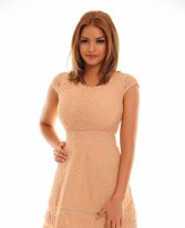 Haine. Rochie PrettyGirl Marked Cream