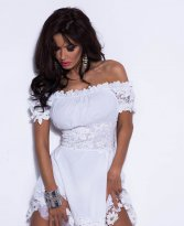 Mexton Notorious Type White Dress