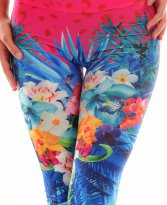 Ocassion Salient Nature Blue Tights