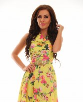 Haine. Rochie LaDonna Cheerful Lady Yellow