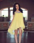 Rochie Painted Poetry Yellow