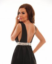 Haine. Rochie Juicy Addiction Black