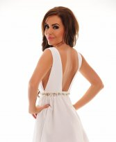 Haine. Rochie Juicy Addiction White