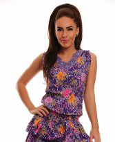 Haine. Rochie Country Delight Purple